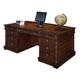 Hekman Havana Partners Desk in Antique 8-1240