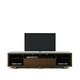 Manhattan Comfort Cabrini TV Stand 2.2 in Nut Brown 15372