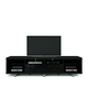 Manhattan Comfort Cabrini TV Stand 2.2 in Black 15313