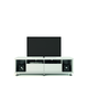Manhattan Comfort Cabrini TV Stand 1.8 in White Gloss 15484