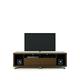 Manhattan Comfort Cabrini TV Stand 1.8 in Nut Brown 15472
