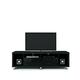 Manhattan Comfort Cabrini TV Stand 1.8 in Black 15413