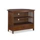 John Thomas Furniture Home Accents Mission Corner TV Stand in Espresso TV581 -27