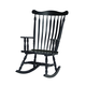 John Thomas Furniture Home Accents Colonial in Antique Black R37-120