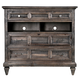 Magnussen Calistoga Media Chest  in Weathered Charcoal B2590-36
