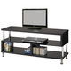 Coaster TV Stand in Black 700652