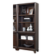 Aspenhome Viewscape Open Bookcase in Java Brown I73-333