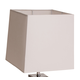 AICO Montreal Rectangular Lamp Shade, White (2/pack) FS-MNTRL197T-PK2