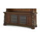AICO Villa Valencia Entertainment Wall in Chestnut- Base Only 72095B-55