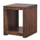 Aspenhome Contemporary Alder End Table in Tobacco DL904-TOB