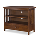John Thomas Furniture Home Accents Mission Corner TV Stand in Espresso TV581-27
