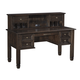 Townser Home Office Desk w/ Hutch in Grayish Brown H636-27-48