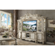 Acme Versailles Entertainment Center in Bone White 91320 EST SHIP TIME IS 4 WEEKS