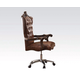 Acme Versailles Office Chair in Cherry 92282