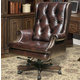 Parker House Prestige Leather Desk Chair in Havana DC#112-HA
