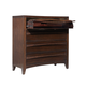 Standard Furniture Contour Media Chest in Dark Cherry 80806