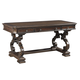 """Aspenhome Sheffield 66"""" Writing Desk in Warm Rubbed Brown I39-360WD"""