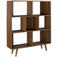 Modway Realm Bookcase in Walnut EEI-2529-WAL