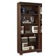 Aspenhome Weston Open Bookcase in Brown I35-333