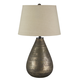 Taber Glass Table Lamp in Antique Gray L430274