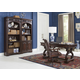 Aspenhome Sheffield 4pc Office Set in Warm Rubbed Brown