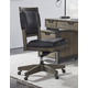 Aspenhome Harper Point Office Chair in Fossil IHP-366-FSL