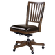 Aspenhome Oxford Office Chair in Whiskey Brown I07-366-WBR APPX DELIVERY IN 12 WEEKS