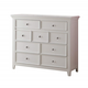 Acme Lacey TV Console in White 30604