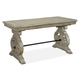 Magnussen Tinley Park Writing Desk in Dove Tail Grey H4646-01