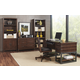 Aspenhome Canfield 5pc Office Set in Cognac WILL SHIP IN EARLY JANUARY 2020