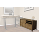 Parker House Midtown Credenza in Smoked Grey MID#348C