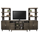 Legends Furniture Avondale 3pc Entertainment Wall with 62