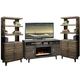 Legends Furniture Avondale 3pc Entertainment Wall with 61