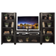 Legends Furniture Urban Loft 3pc Entertainment Wall with 48