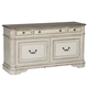 Liberty Magnolia Manor Credenza in Antique White 244-HO121 EST SHIP TIME IS 4 WEEKS CODE:UNIV10 for 10% Off'