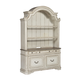 Liberty Magnolia Manor Credenza with Hutch in Antique White EST SHIP TIME IS 4 WEEKS
