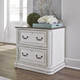 Liberty Magnolia Manor Jr Executive Media Lateral File in Antique White 244-HO146 EST SHIP TIME IS 4 WEEKS