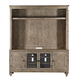 Magnussen Lancaster TV Console with Hutch in Dove Tail Grey