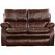 Catnapper Furniture Verona Power Headrest Power Lay Flat Reclining Sofa in Walnut