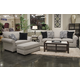 Jackson Furniture Maddox 2pc Living Room Set in Fossil/Phantom