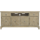 Bernhardt Rustic Patina Entertainment Console in Sand 387-860