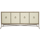 Bernhardt Rustic Patina Entertainment Console in Sand 387-870