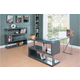 Homelegance Netto 2pc Office Furniture in Gray
