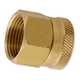 Aqualine Brass Hose Fitting 3/4