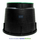D100 - Dura 10 Inch Round Irrigation Control Valve Box with Lid