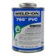 Weld-On 795 Flex Clear PVC Cement 16 oz | 795-020