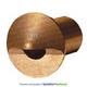 FX 226850 CustodeGradino Wall Light w/ 20W MR-8 Brass Lamp