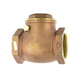 Aqualine Swing Brass Check Valve 1-1/2