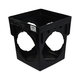 NDS Black 4 Outlet Square Catch Basin 9