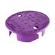 Underhill VL VL-6P Versalid Valve Box Cover - Purple (One Size Fits All)